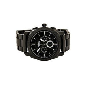 Fossil FS4552 Machine Chronograph Stainless Steel Watch (Black)