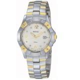 Seiko SXDA60P1 Quartz Two-tone with Diamonds Ladies Watch (Silver)