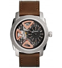 Fossil ME1157 Mechanical Twist Leather Watch (Brown)