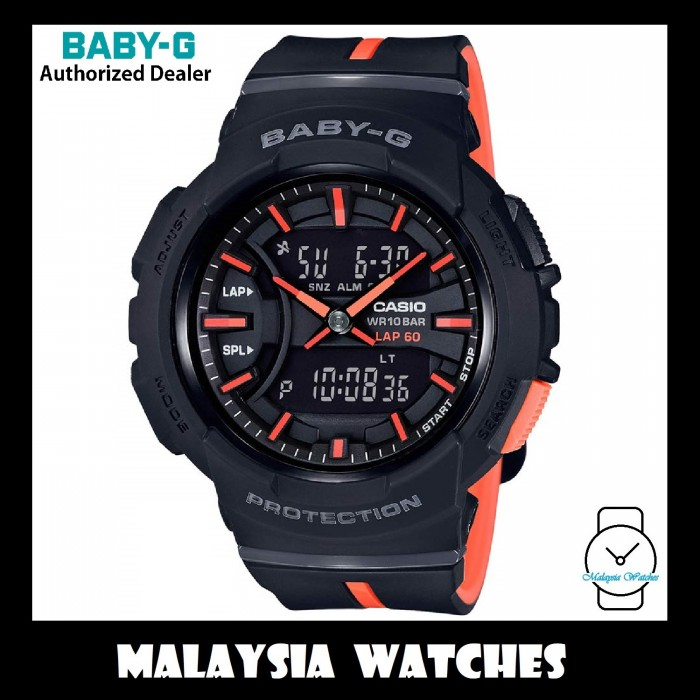 d79898d29d OFFICIAL WARRANTY) Casio Baby-G BGA-240L-1A RUNNING SERIES G-Squad ...