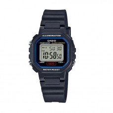 Casio LA-20WH-1C Petite Ladies Digital Black & Blue Watch (Free Shipping)