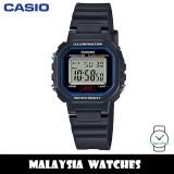 (100% Original) Casio LA-20WH-1C Classic Digital Black Resin Watch LA20WH LA20WH-1C