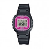 Casio LA-20WH-4A Petite Ladies Digital Black & Hot Pink Watch (Free Shipping)