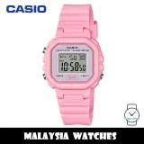(100% Original) Casio LA-20WH-4A1 Classic Digital Pink Resin Watch LA20WH LA20WH-4A1 LA-20WH-4A1VDF