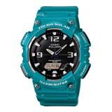 Casio's Men AQ-S810WC-3AV Solar Digital Analog Resin Light Blue Watch (Free Shipping)