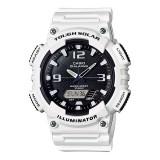 Casio's Men AQ-S810WC-7AV Solar Digital Analog Resin White Watch (Free Shipping)