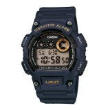 Casio's Men W-735H-2A 10 YEAR BATTERY LIFE DIGITAL Resin Navy Blue Watch (Free Shipping)