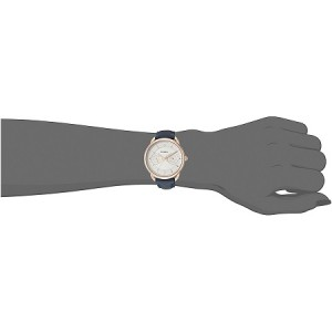 Fossil Women's ES4260 Tailor Multifunction Leather Watch (Navy Blue)