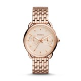 Fossil Women's ES3713 Tailor Multifunction Stainless Steel Watch (Rose Gold)