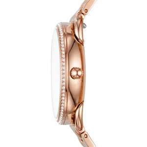 Fossil Women's ES4264 Tailor Multifunction Stainless Steel Watch (Rose Gold)