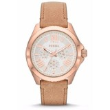 Fossil Cecile AM4532 Multifunction Leather Watch (Sand)