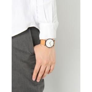 (100% Original) Skagen Men's SKW6352 Signature White Dial Tan Leather Watch (2 Years International Warranty)