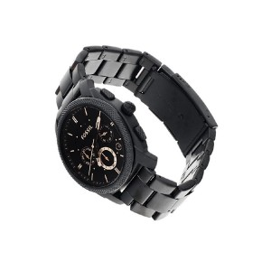 Fossil FS4682 Machine Chronograph Stainless Steel Watch (Black)