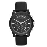 Armani Exchange Men's AX1326 Active Chronograph Watch (Black)