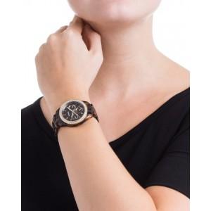 (OFFICIAL WARRANTY) Fossil ES2795 Stella Multifunction Tortoise Resin Watch (2 Years Fossil Warranty)