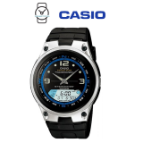 Casio AW-82-1AVDF Illumination Fishing Gear 10 YEAR BATTERY Black Resin Watch (Free Shipping)