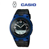 Casio AW-80-2BVDF Telememo 10 YEARS BATTERY LIFE Black Resin Watch (Free Shipping)