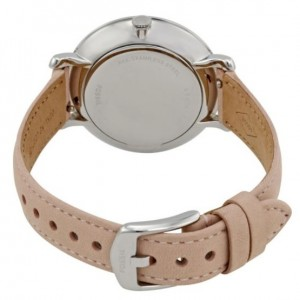 Fossil Women ES4151 Jacqueline Mother of Pearl Dial Leather Watch (Light Pink)