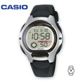 Casio Kids' LW-200-1A Standard Digital 10-YEAR BATTERY Silver & Black Resin Watch (Free Shipping)
