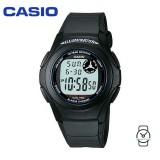 Casio Men's F-200W-1A Standard Digital 10-YEAR BATTERY Black Resin Watch (Free Shipping)