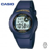Casio Men's F-200W-2A Standard Digital 10-YEAR BATTERY Navy Blue Resin Watch (Free Shipping)