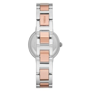 Fossil ES3405 Virginia Three Hand Stainless Steel Watch (Pink)