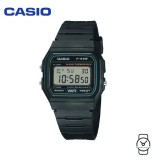 Casio Men's F-91W-3DG VINTAGE SERIES Digital Black & Dark Green Resin Watch (Free Shipping)