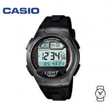 Casio Men's W-734-1AVDF Sport Runners 10-YEAR BATTERY Digital Black & Grey Resin Watch (Free Shipping)