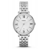 Fossil ES3433 Jacqueline Three Hand Stainless Steel Watch (Silver)