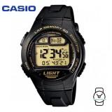 Casio Men's W-734-9AVDF Sport Runners 10-YEAR BATTERY Digital Black Resin Watch (Free Shipping)