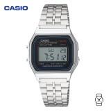 Casio Women's A159W-N1DF Classic Digital Stainless Steel Bracelet Watch (Free Shipping)