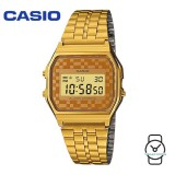 Casio Unisex A159WGEA-9ADF Vintage Gold Stainless Steel Watch (Free Shipping)