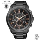 (100% Original) Citizen BL5545-50E Eco-Drive Gent's Sapphire Perpetual Calendar Chronograph Watch (Black)