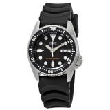 Seiko Men Sports Automatic Diver 200m Rubber Strap Watch SKX013K1 (Black)