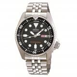 Seiko Men Sports Automatic Diver 200m Stainless Steel Bracelet Watch SKX013K2 (Black)