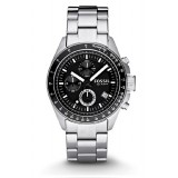 Fossil Decker Chronograph Men's Stainless Steel Strap Watch CH2600