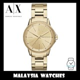 (100% Original) Armani Exchange Ladies' AX4346 Gold Tone Stainless Steel Watch (2 Years International Warranty)