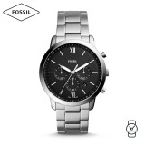 Fossil Men's FS5384 Neutra Chronograph Stainless Steel Watch  (Silver)