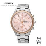 Seiko Ladies SNDV46P1 Chronograph Stainless Steel Watch