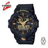 (OFFICIAL MALAYSIA WARRANTY) Casio G-SHOCK GA-710B-1A9DR Standard Analog-Digital Men's Resin Watch (Black)