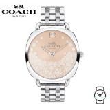 (100% ORIGINAL) Coach Ladies' 14503014 Tatum Stainless Steel Watch (Silver)
