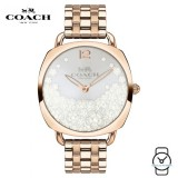 (100% ORIGINAL) Coach Ladies' 14503015 Tatum Stainless Steel Watch (Rose Gold)