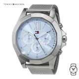 (100% Original) Tommy Hilfiger Ladies' 1781846 Chelsea Stainless Steel Watch (Silver)