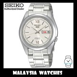 Seiko 5 SNKL51K1 Automatic See-thru Back Silver Dial Stainless Steel Bracelet Gents Watch
