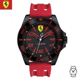 (100% Original) Scuderia Ferrari Men's 0830308 XX Kers Watch (Red)
