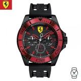 (100% Original) Scuderia Ferrari Men's 0830310 XX Kers Watch (Black)