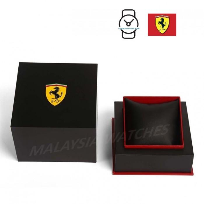 (100% Original) Scuderia Ferrari Men s 0830482 Redrev Watch (Black   Yellow) 37bf6be46f