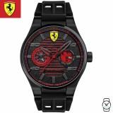 (100% Original) Scuderia Ferrari Men's 0830431 Speciale Analogue Watch (Black)