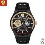 (100% Original) Scuderia Ferrari Men's 0830457 Speciale Analogue Watch (Black)