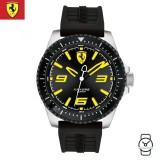 (100% Original) Scuderia Ferrari Men's  0830487 XX Kers Watch (Black & Silver)